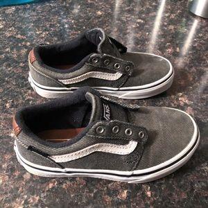 Vans old skool sneakers sz 12y